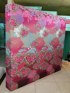 Kasur inoac motif bunga love ping
