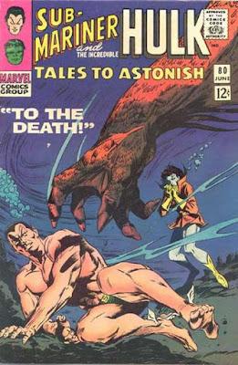 Tales to Astonish #80, Sub-Mariner