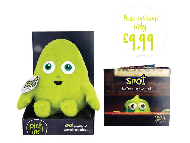 Snot book and toy from Smyths