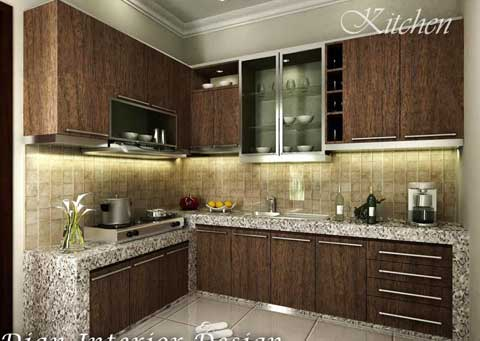 kitchen set bentuk L