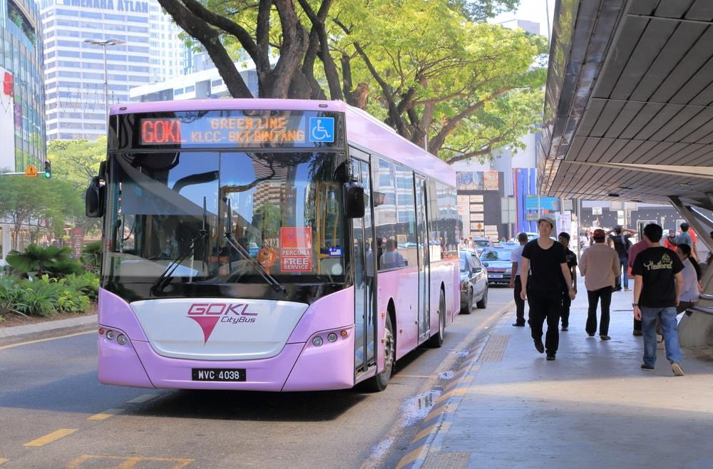 Free Go KL Bus KLCC Bukit Bintang