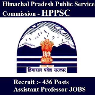 Himachal Pradesh Public Service Commission, HPPSC, HP, PSC, Himachal Pradesh, Assistant Professor, Professor, Post Graduation, freejobalert, Sarkari Naukri, Latest Jobs, hppsc logo