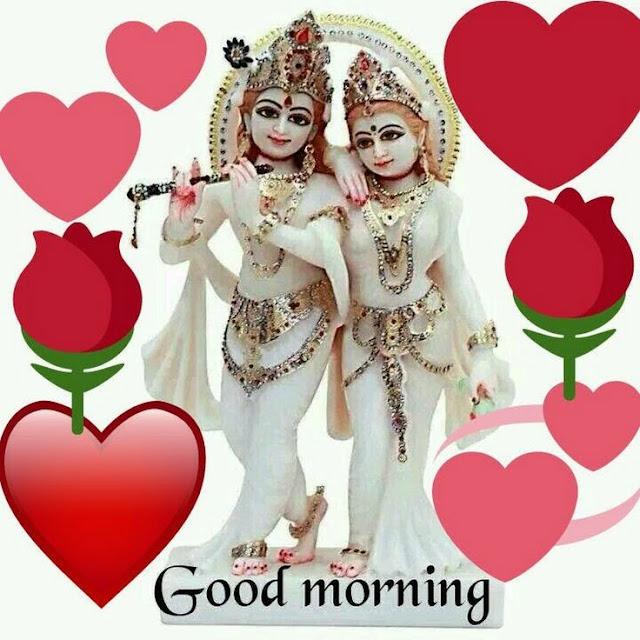 Best radha Krishna good morning photos