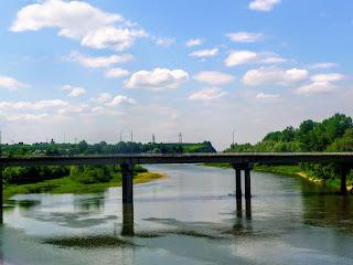 Галич. Автомобильный мост через Днестр