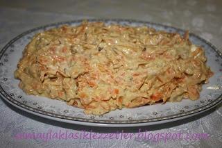 Tahinli Havuç Salatası