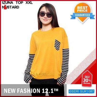 SUP1087B17 Baju Blouse Orang Gemuk Bigsize Murah BMGShop