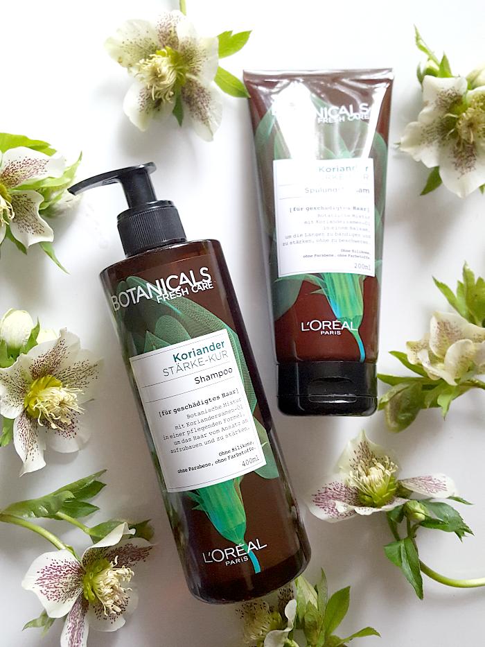 Botanicals Fresh Care - Stärke-Kur - Shampoo & Spülungsbalsam  Botanische Premium-Haarpflege Drogerie