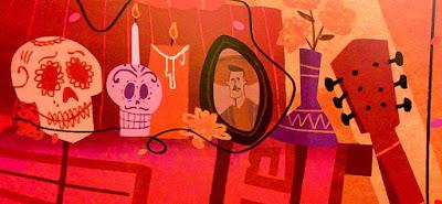 Pixar Coco - Dia de los Muertos concept artwork