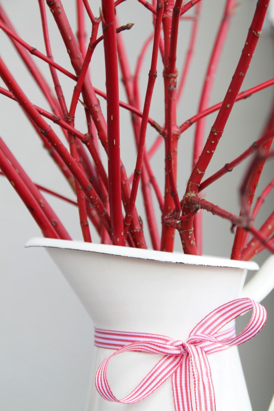 heimlichkeiten der purpurfarbene weihnachtsstrauss roter hartriegel. Black Bedroom Furniture Sets. Home Design Ideas