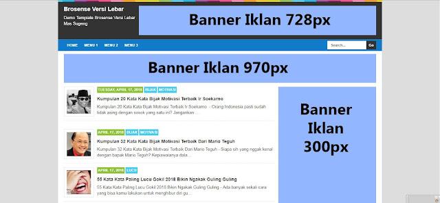 Download Template Brosense Mas Sugeng Versi Lebar Terbaru 2018