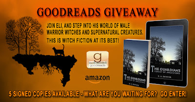 GOODREADS GIVEAWAY - NOT LONG NOW!!