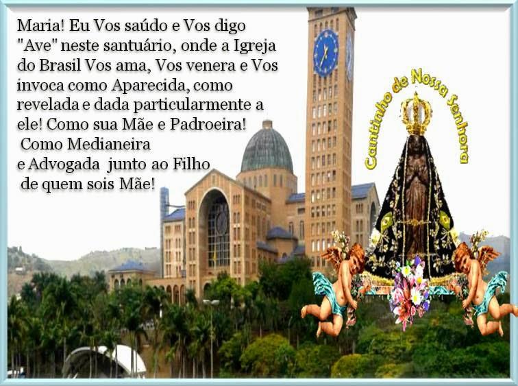 Querida Padroeira Do Brasil Abenç Frases Nossa Senhora: Comunidade Católica Milagre Da Vida: 08/31/12