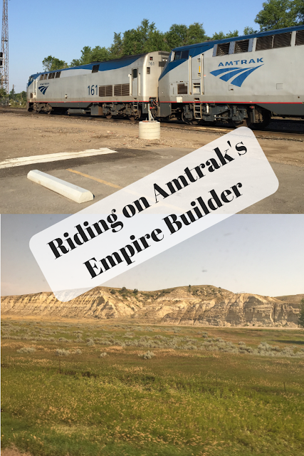Riding on Amtrak's Empire Builder