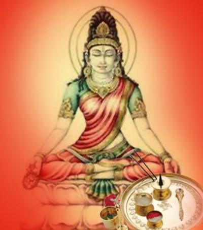Hindu Goddess yakshini yami picture