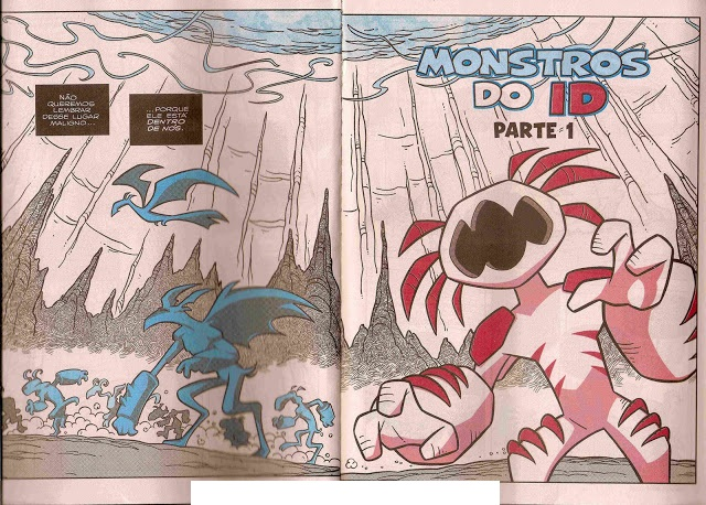 Turma da Mônica Jovem - Monstros do Id.