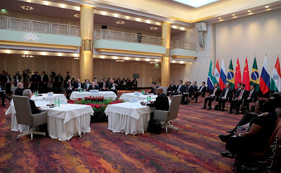 Informal meeting of BRICS heads of state and government.