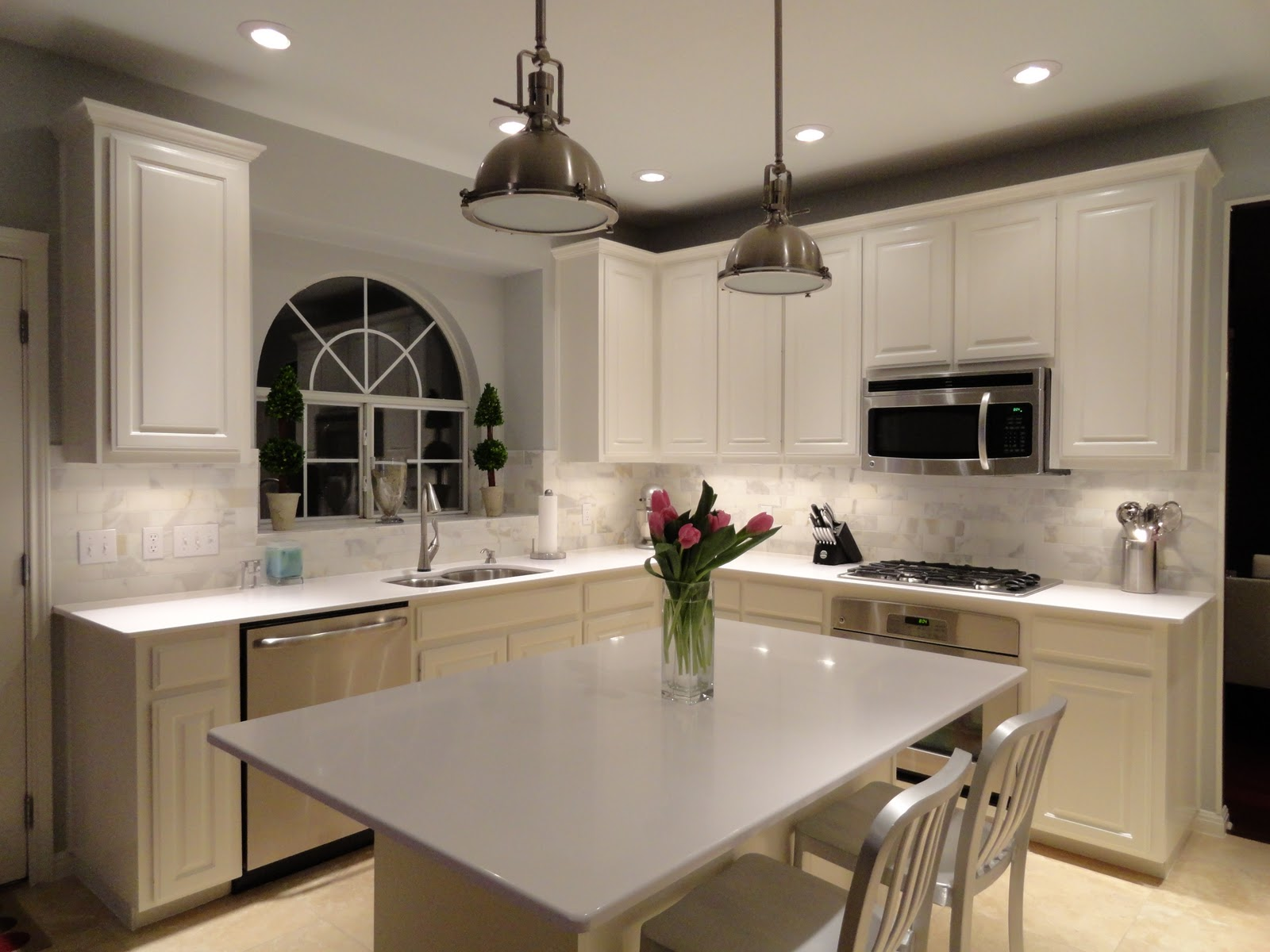 white kitchen cabinets with light countertops white kitchen countertops We