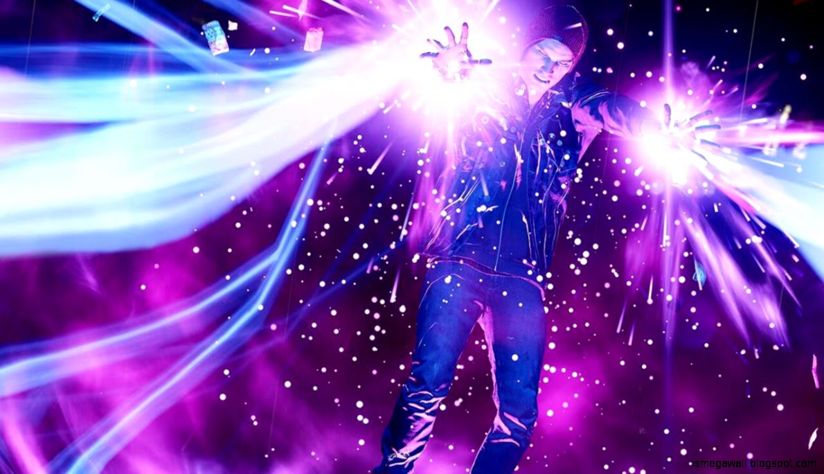 Infamous Second Son Neon Images Wallpaper Mega Wallpapers