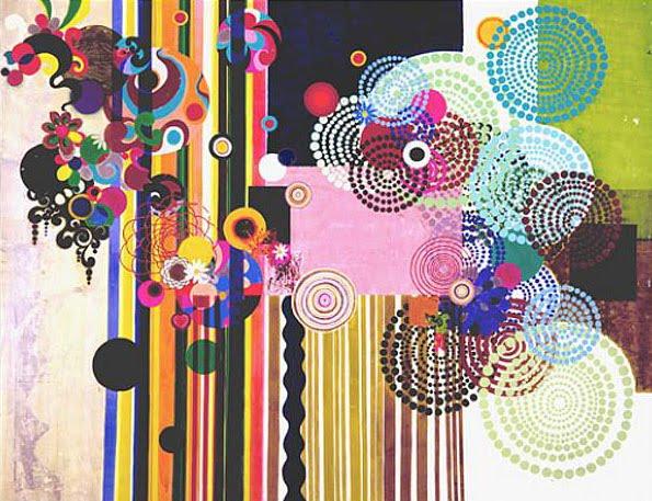 Surfacephilia: The work of Beatriz Milhazes. *swoon*