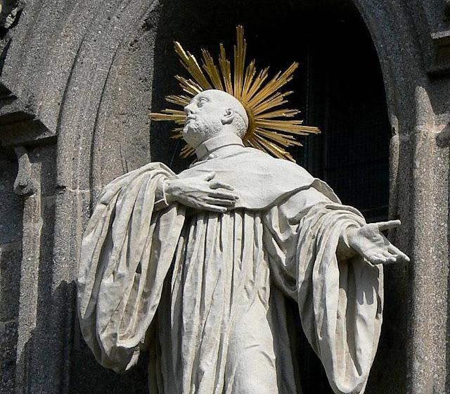 São Bernardo de Claraval, incansável pregador das Cruzadas.