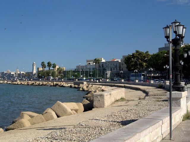 promenada Bari, Apulia, co zobaczyć?