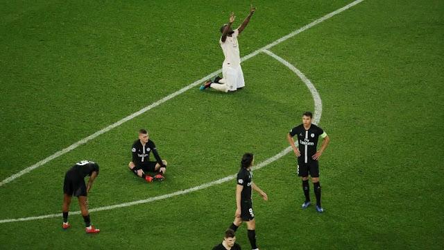 Lagi, PSG Jadi Korban Comeback Dramatis di Liga Champions