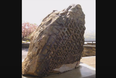Ufo Sightings News The Mysterious Waffle Rock 300000 Million