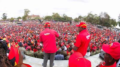Uhuru heckled and booed in Makueni and Kilifi. PHOTO | Courtesy