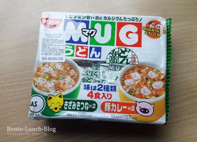 Snack: Nissin MUG Udon / Instant Tassensuppe