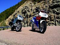 BMW K100RS Honda VFR400R