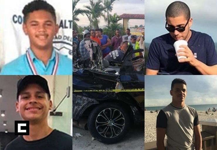 """Víctimas de accidente en La Vega salieron a """"dar una vuelta"""" sin permiso de sus padres"""