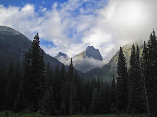 Vestal Peak and Arrow Peak