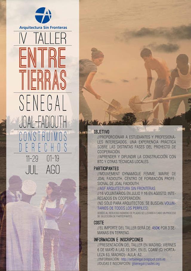 http://asfsenegal.blogspot.com.es/2016/04/taller-entretierras-iv-2016.html