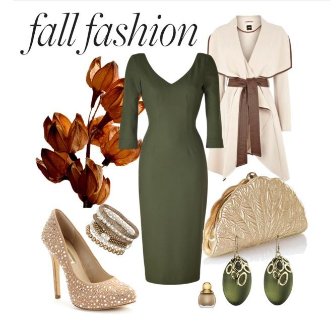 October Outdoor Wedding Ideas: What I'd Wear: Fall Wedding