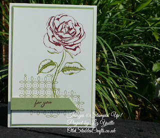 Simple Graceful Garden Card - for you