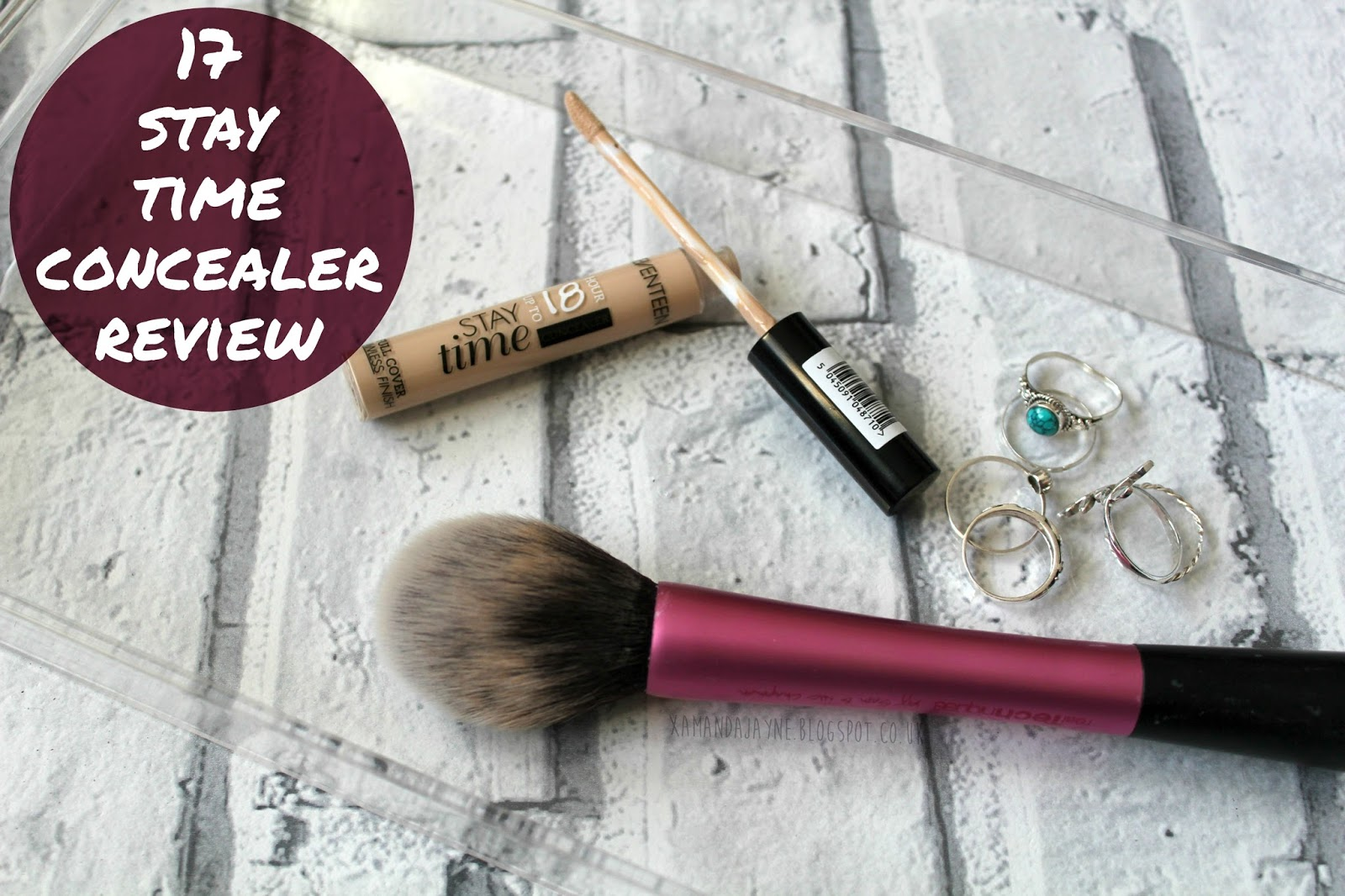 17 stay time concealer review, affordable, drugstore, beauty, cosmetics, review, cruelty-free
