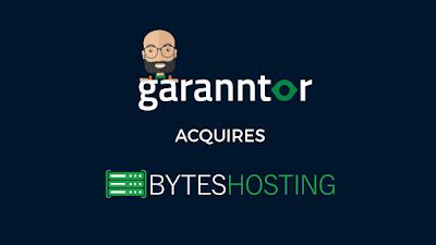 byte web hosting company acquired by garanntor