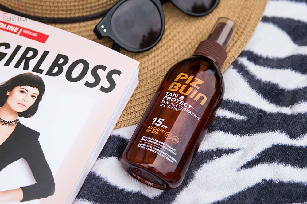 5 Summer Essentials Beauty Piz Buin Tan Protect Oil Spray SPF 15