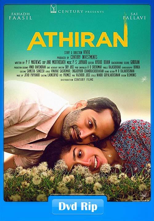 Athiran 2019 Malayalam 720p DVDRip Esub   480p 300MB   100MB HEVC Poster