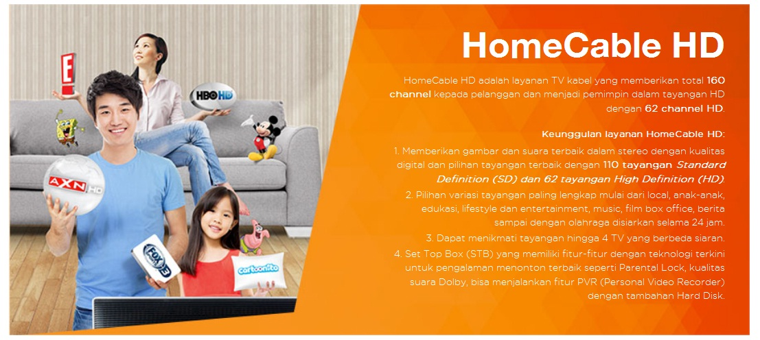 Paket Home Cable Ultimate First media