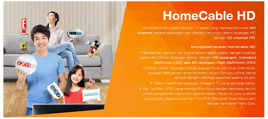PROMO TV KABEL FIRST MEDIA - PAKET HOME CABLE ULTIMATE