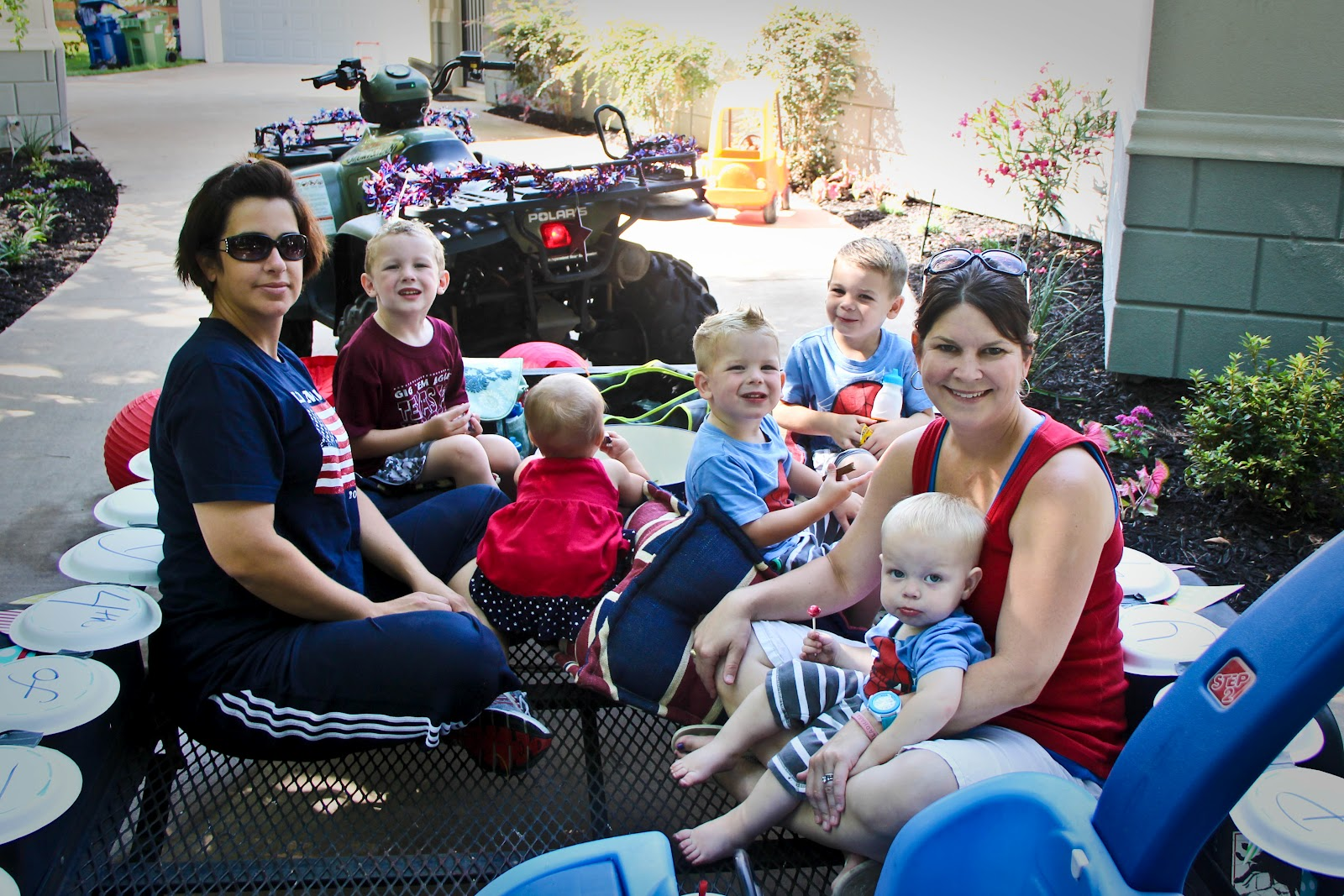 The Quinlan Boys 4th Of July Parade