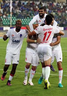Delhi Dynamos beat Chennaiyin FC