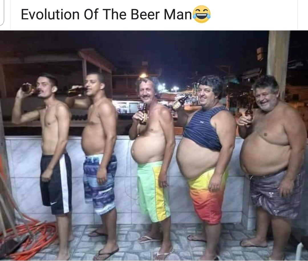 Evolution of The Beer Man