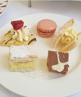 Afternoon tea at Woburn Abbey