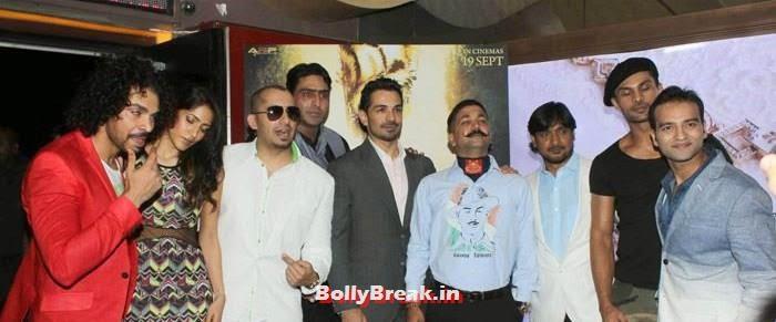 Aadil Chahal, Himarsha Venkatsamy, Ali Quli Mirza, Abhinav Shukla, Aaran Chaudhary, Celebs at 'Roar' Movie First Look Launch