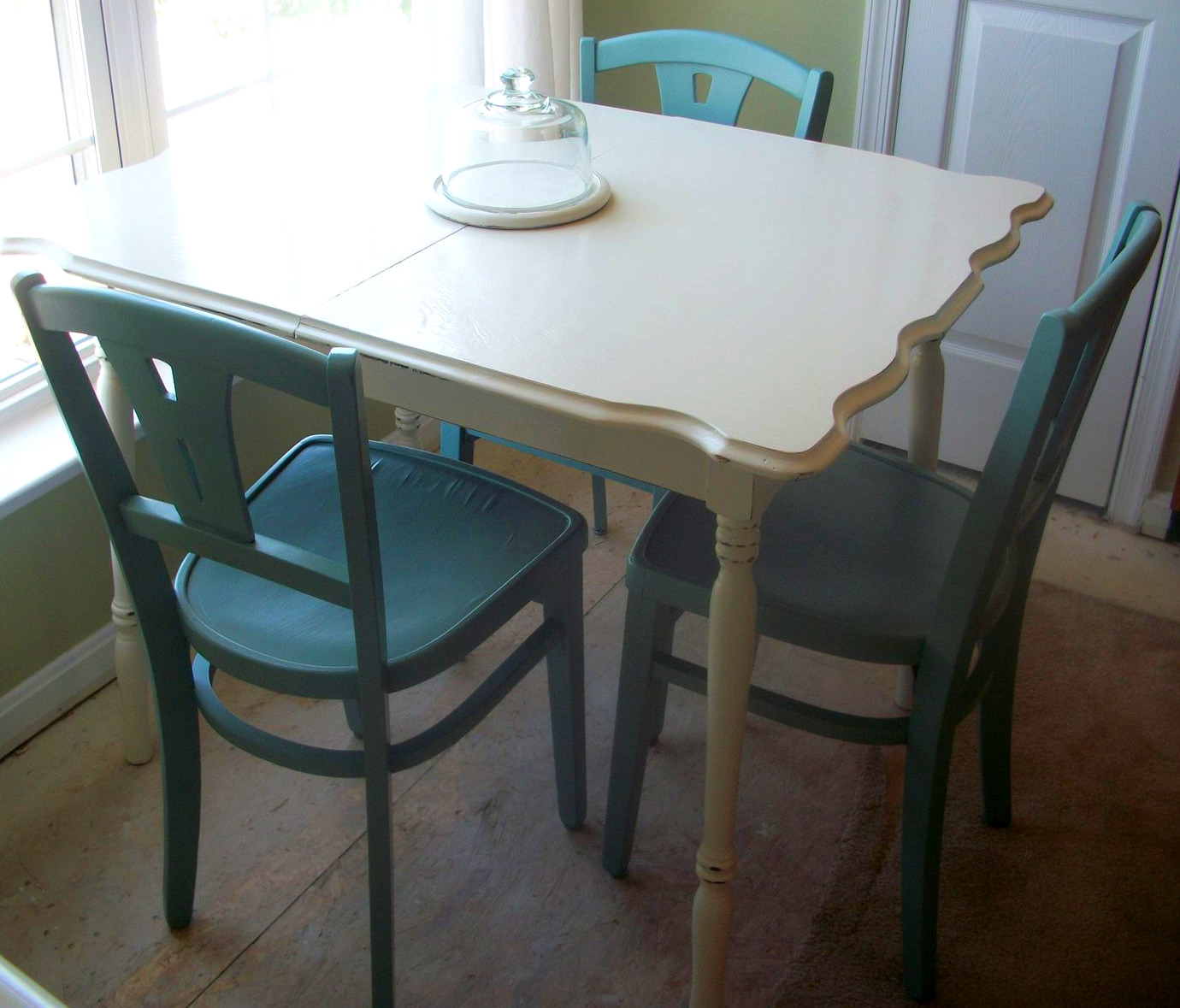 Unfinished Kitchen Table Set