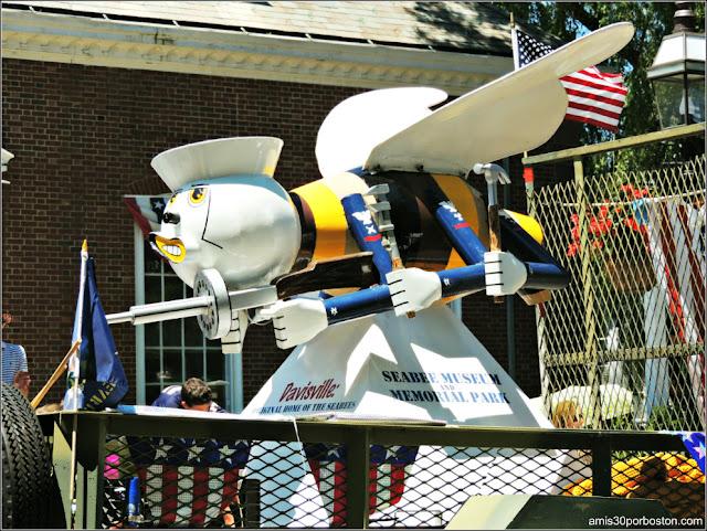 Seabee Museo Rhode Island Desfile 4 de Julio Bristol