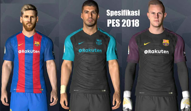 Spesifikasi [System Requirements] PC Game PES 2018