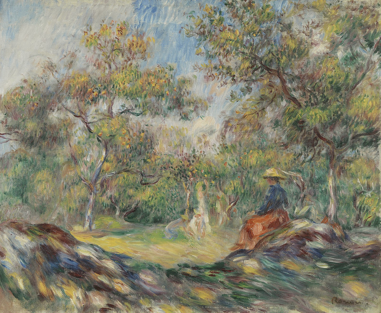 Pierre auguste renoir the gardens tutt 39 art pittura for Auguste renoir